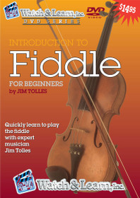 Instructional Fiddle Video DVD learn play violin lesson Watch and Learn