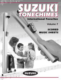 Suzuki TONECHIME MUSIC SCORES - VOL 7 HBB-S7 international Favorites