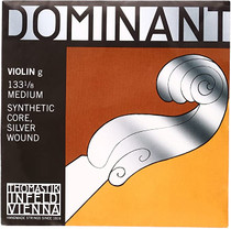 Thomastik-Infeld Dominant Single Violin G String Nylon Core Silver Wound 1/8 size 133-1/8 M3066
