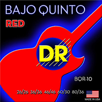 DR Handmade Strings RED Devil Bajo Quinto String BQR-10
