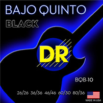 DR Handmade Strings BLACK Beauty Bajo Quinto String BQB-10