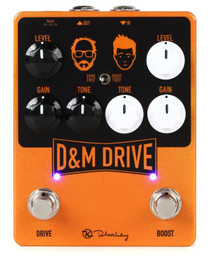 Keeley D&M Drive dual overdrive and boost pedal KDMDRIVE