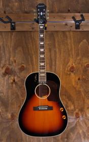 Gibson Epiphone EJ-160E John Lennon Acoustic-Electric Guitar Vintage Sunburst