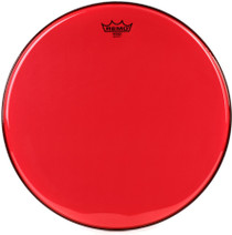 "Remo Emperor Colortone Red 18"" Drum Head BE-0318-CT-RD"