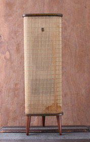 Vintage Grundig Raumklang Stereo Mate Box IV Majestic Mid Century Speaker WORKS