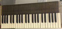 One Individual Key for Hammond Organ All notes black white L100 M100 Porta B etc