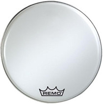 Remo Smooth White Ambassador Marching Bass Drum Head BR1216MP