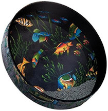 """Remo 12"""" OCEAN DRM FISH GRPHC ET0212-10"""