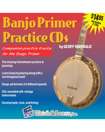 Banjo Primer Jam 2 CD Practice Backing Tracks Lessons Instruction Audio Learn