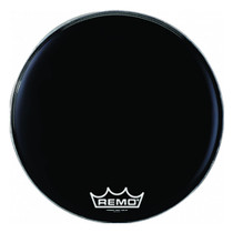 Remo POWERMAX EBONY MARCHING Bass Drum Head PM1424MP