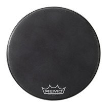 Remo PWRMAX Black SUEDE BD MP Bass Drum Head PM1820MP
