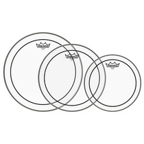 "Remo PROPACK 10""12""14"" CLEAR Powerstroke Drum Head set PP0920PS"