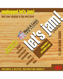 Let's Jam CD Unplugged Acoustic Practice Backing Tracks Watch and Learn