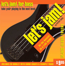 Let's Jam! CD Bass Practice Backing Tracks Instruction Watch and Learn