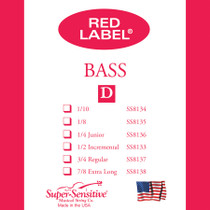 "Supersensitive RED Label  JR BASS ""A"" 8146"