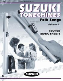 Suzuki TONECHIME MUSIC SCORES - VOL 6 HBB-S6