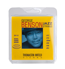 Thomastik-Infeld George BENSON Nickel ROUNDWND Jazz Guitar String SET GR112