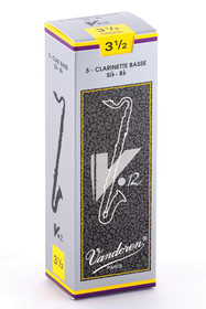 Vandoren 5 BASS CLARINET V12 REED #35 CR6235