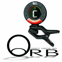 Tune-Tech Orb Clip-On Electronic Digital Chromatic Tuner Guitar Violin etc+2Batt