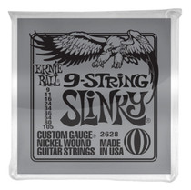 Ernie Ball P02628 Slinky 9-String Nickel Wound Electric Guitar Strings 9-105 2628EB