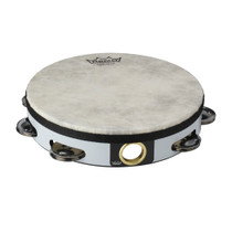 "Remo TA-5108-00 Fiberskyn Tambourine Quadura White 8"""