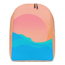 Encinitas Sunset Waves Backpack