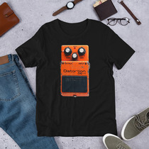 Boss DS-1 Distortion Guitar Pedal Short-Sleeve Unisex T-Shirt