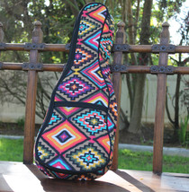 Tenor Ukulele Gig Bag Padded Soft Case Multicolor Southwestern Pattern
