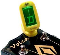 Yellow Electronic Digital Clip-on Chromatic Tuner Guitar Bass Ukulele Mandolin