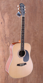 New Kapok Solid Spruce Top Steel String Drednought Acoustic Guitar