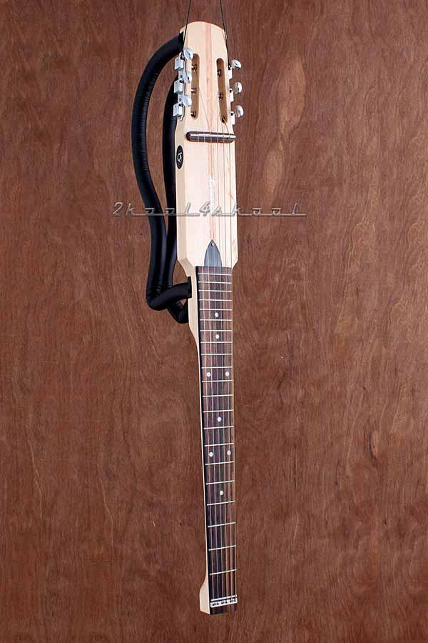 silent nylon string acoustic electric travel guitar classical full size traveler 2kool4skool. Black Bedroom Furniture Sets. Home Design Ideas