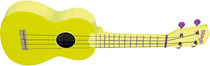 Stagg Soprano Ukulele Lemon Yellow with Gig Bag Full Size Beginner Model Uke