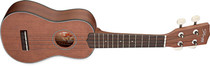 Stagg Soprano Ukulele Solid Top Maho-Maho Full Size Uke with Gig Bag
