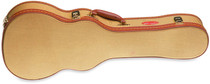 STAGG 72 X 23 X 8 Cm Gold Tweed Deluxe Hard Case For Concert Ukulele