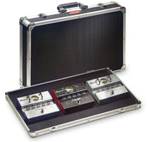 STAGG Medium-weight ABS PedalBoard Case For Guitar Effect Pedals Pedal Board