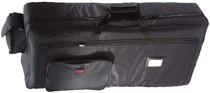 STAGG Deluxe Black Nylon Keyboard Bag for Yamaha PSR-190