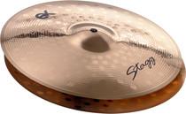 """STAGG 14"""" Ex Medium Hi-Hat Cymbals Pair Hihat"""
