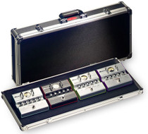 STAGG Medium-weight ABS Case For Guitar Effect Pedals