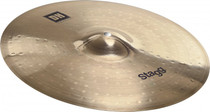 "Stagg Dual Hammered 14"" Dh Brilliant Medium Crash Cymbal Dh-Cm14B"