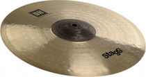 "Stagg Dual-Hammered 14"" Medium Thin Dh Exo Crash Cymbal Dh-Cmt14E"