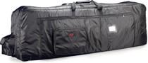 STAGG 18mm Thick Deluxe Black Nylon Keyboard Bag