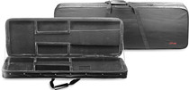 STAGG Black Nylon Baic Soft Case for Electric Guitar Plus Large zippers