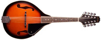 STAGG Tobacco Sunburst Bluegrass Mandolin with Basswood Top A Teardrop Body
