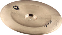 "STAGG 17"" Sh China Cymbal - Hand-Hammered - Cast B20 Bronze"