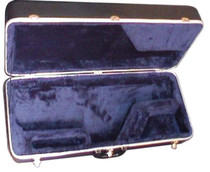 STAGG Medium Weight Black Plastic ABS Moulded Case for Tenor Saxophone Sax