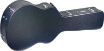 STAGG Basic Black Hardshell Case for 4/4 39'' Classical Guitar