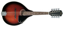 STAGG Red burst Bluegrass Mandolin with Spruce Top plus Nato Neck
