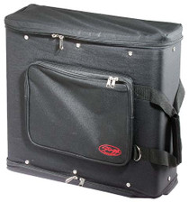 STAGG Black Carrying Bag for 3-Unit Rack w/Front Rails