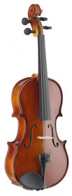 STAGG 1/4 Violin W/Ebony Fingerboard Softcase and Bow - Solid Spruce Top