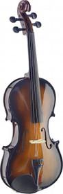 Stagg 4/4 Handcrafted Solid Maple Violin W/ Standard-Shaped Soft-Case Sunburst